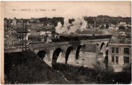 CPA 14 - LISIEUX (Calvados) - 128. Le Viaduc (passage Du Train) - ND - Lisieux