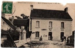 Dolus 1907 - 37 - Mairie Et Bureau De Poste - !!! Déchirures En Haut - France