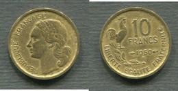 10 F GUIRAUD 1950 B - K. 10 Francs