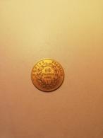 10 Francs Napoleon 3 Or Tete Nue 1859 A - K. 10 Francs