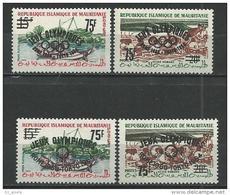 """Mauritanie YT 154A à 154D """" J. O. De Tokyo """" 1962 Neuf** - Mauritania (1960-...)"""