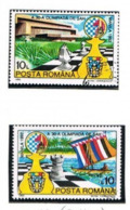 ROMANIA - SG 5442.5443 - 1992 CHESS OLYMPICS, MANILA  (COMPLET SET OF 2)   - USED ° -    RIF. CP - Gebraucht