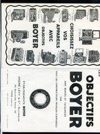 300520///  PUB  OBJECTIFS BOYER     A PARIS - Advertising