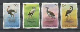 TANZANIA  YVERT  195/98     MNH  ** - Tanzania (1964-...)