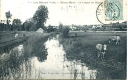 N°9220 -cpa Les Riceys -la Laignes Au Magny- - Les Riceys