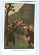 T7346/ Soldaten Im Auto  Kämpfe  AK Wohfahrts-Karte  Ca.1915 1. Weltkrieg - Oorlog 1914-18