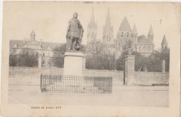 14 _  CAEN _   Statue De Louis XIV - Caen