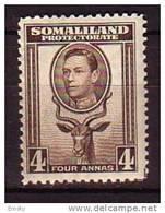 PGL - BRITISH COLONIES SOMALILAND Yv N°80 ** - Somaliland (Protectorate ...-1959)