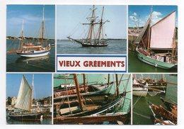 Voiliers--1998--Escale Sur La Côte Atlantique -- Vieux Gréements --Multivues.....timbre..cachet CHALLANS-85.....à Saisir - Voiliers