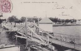 PAUILLAC : (33) Le Ponton Des Bateaux à Vapeur - Pauillac