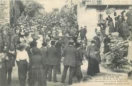 LACALM-fêtes Du 31 Aôut 1913-jour De La Décoration Du Clairon Rolland - Francia