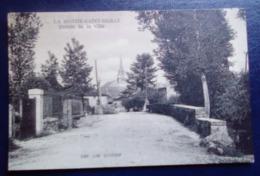 Carte Postale Ancienne - La Mothe- Saint-Heray - Entrée De La Ville - La Mothe Saint Heray