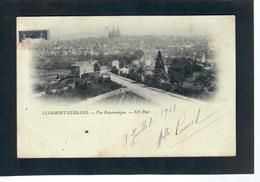 CPA 63 CLERMONT FERRAND Précurseur Vue Panoramique - Clermont Ferrand