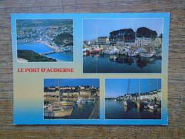 """Audierne , Le Port D'audierne , Multi-vues """""""" Beaux Timbre D Et Cachets Double """""""" - Audierne"""