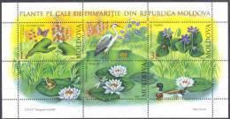2008. Moldova, Wild Flowers, S/s, Mint/** - Moldova