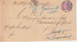 DR - Peiskretscham 7.6.84 K1 Brief N. Langendorf Retourvermerk - Mit Inhalt - Covers & Documents