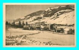 A843 / 529 74 - MEGEVE Vue Générale Et Les Villas - Megève