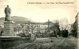 LES VANS   =   La Place Léopold Ollier   1498 - Other Municipalities