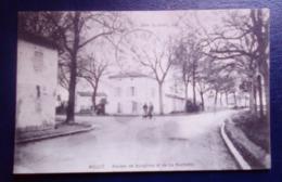 Carte Postale Ancienne -Mauzé -Routes De Surgères Et De La Rochelle - Mauze Sur Le Mignon