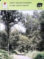 SAINT AMAND RAISMES - Parc Régional  - Photo - FICHE GEOGRAPHIQUE - Ed. Larousse-Laffont - Géographie
