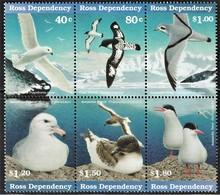 1997 Ross Dependency Sea Birds Set (** / MNH / UMM) - Marine Web-footed Birds