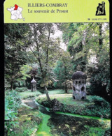 """ILLIERS COMBRAY - Souvenir De Proust - Photo """"le Pré Catelan"""" - FICHE GEOGRAPHIQUE - Ed. Larousse-Laffont - Géographie"""