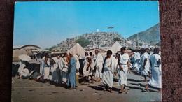 CPSM JABAL UR REHMAT MECCA LA MACQUE LIEU DE PELERINAGE ISLAM ANIMATION - Islam