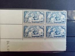 FRANCE.1941. N°498 Cd 41 . SECOURS NATIONAL  .NEUFS++ Côte Yvert 55 €. - 1940-1949