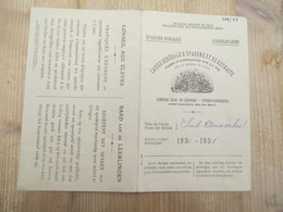 Hamme St Annaschool Schoolsparen 1930 Bank Aslk - Bank & Insurance