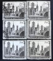 België - Belgique - (o)used - Ref B1/4 - 1971 - Michel Nr.1647 - Gent - Timbres