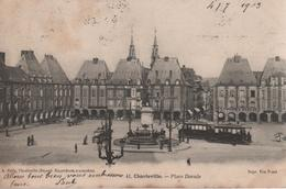 CPA 08 CHARLEVILLE Place Ducale - N° 41 A. GELLY, Voyagée, écriture Plume, Timbrée, 1903, DND - Charleville