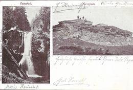 1903 - Petrovy Kameny  Peterstein Okres  OLOMOUC , Gute Zustand, 2 Scan - Tchéquie