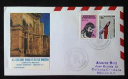 Dominican Republic, Circulated Cover To Mexico, « POPE JOHN PAUL II », « Dominican Republic », 1979 - República Dominicana
