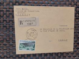 Boussellam Lafayette Algérie Pour Paris France ( Le 16 05 1960) Algérie - Algérie (1924-1962)