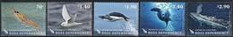 2013 Ross Dependency Wildlife: Snow Petrel, Adelie Penguin, Krill, Crabeater Seal, Blue Whale Set & MS (** / MNH / UMM) - Antarctic Wildlife