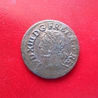 Louis XIII - Double Tournois De Warin - 20mm 3,02g - B/TB - 987-1789 Geld Van Koningen