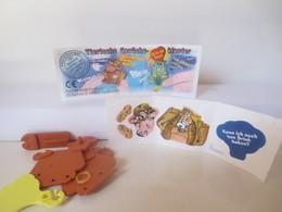 Kinder Surprise Deutch 1998 : N° 614513 + BPZ + Stickers - Steckfiguren