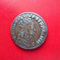 Louis XIV - Liard De France Au Buste Juvénile 2e Type 1655 B - 22mm 3,51g TTB - 987-1789 Geld Van Koningen