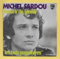 Disque Vinyle 45 Tours :  MICHEL SARDOU  :  LES  BALS POPULAIRES..Scan N : Voir 2 Scans - Vinyles