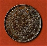 ARGENTINE / DOS CENTAVOS / 1891 - Argentine
