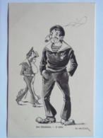 Dworak 57 Pola Marine Navy Humor K.U.K. KuK Kriegsmarine Caricature Karikatur 1910/11.  Fano 1618 - Warships