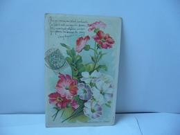 PRIMEVÈRES DE JARDIN THÈME FLEURS CPA 1906 - Blumen