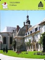 VALLOIRES (Somme) - Abbaye  - Photo  - FICHE GEOGRAPHIQUE - Ed. Larousse-Laffont - Géographie