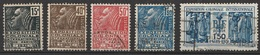 France 1931 N° 270-274 Exposition Coloniale Internationale De Paris (G15) - Francia