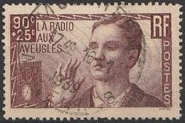 France 1938 N° 418 La Radio Aux Aveugles (G1) - Francia