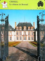 CHOISEL (Yvelines)  - Le Château De Breteuil -  Photo  Façade Entrée  - FICHE GEOGRAPHIQUE - Ed. Larousse-Laffont - Géographie