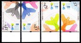 HONG-KONG 1808/11 Main, Oiseaux - Correo Postal