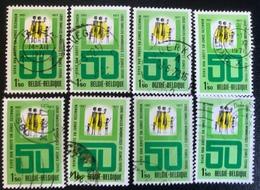 België - Belgique - (o)used - Ref B1/5 - 1971 - Michel Nr.1650 - Bond Van Grote Gezinnen - Timbres