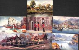 Tuck's Oilette - Lot 7 Cartes (colors, Small Price) - Tuck, Raphael