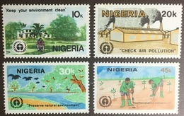 Nigeria 1982 Environment Conference MNH - Nigeria (1961-...)